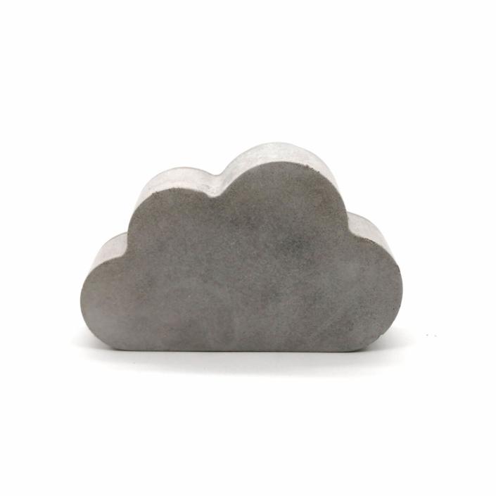 Babygeschenke personalisiert - Beton Wolke