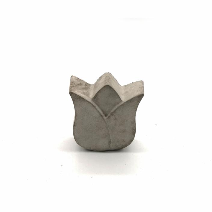 Außergewöhnliche Osterdekorationen - Beton Tulpe