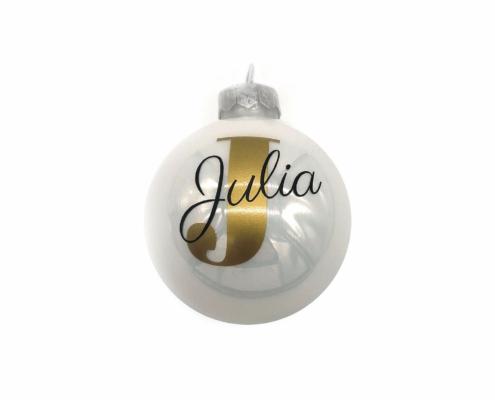Dekorationsvorschläge für Weihnachten - Weihnachtsbaumkugeln