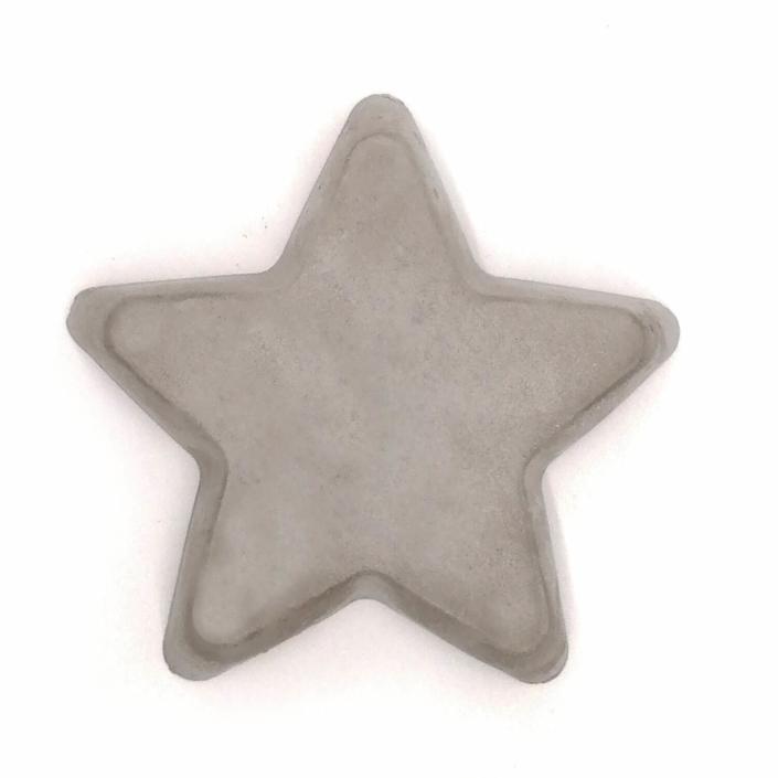 Geschenke Trauerfall - Stern aus Beton für Sternenkind personalisierbar